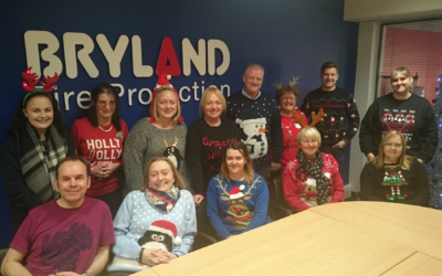Bryland Fire Christmas Jumper Day 2018